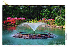 The Azalea Pond At Honor Heights Park Carry-all Pouch