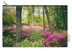 The Azalea Woodland Carry-all Pouch by Jessica Jenney