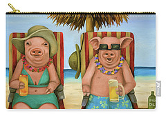 The Bacon Shortage 2 Carry-all Pouch by Leah Saulnier The Painting Maniac