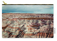The Badlands Of South Dakota I Carry-all Pouch