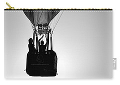 Carry-all Pouch featuring the photograph The Balloon Pilot by AJ Schibig