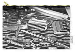 The Barber Shop 10 Bw Carry-all Pouch