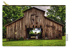 Carry-all Pouch featuring the photograph The Barn by Ester Rogers