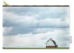 Carry-all Pouch featuring the photograph The Barn by Rebecca Cozart