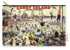 The Barnum And Bailey Greatest Show On Earth The Great Coney Island Water Carnival Carry-all Pouch