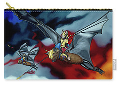 The Bat Riders Carry-all Pouch