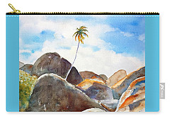 The Baths Palm Tree Carry-all Pouch