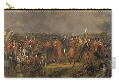 The Battle Of Waterloo,1824 Carry-all Pouch