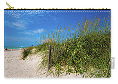 The Beach At Pine Knoll Shores Carry-all Pouch
