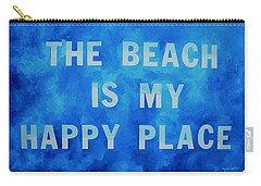 The Beach Is My Happy Place 2 Carry-all Pouch