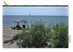 Carry-all Pouch featuring the photograph The Beach by John Scates
