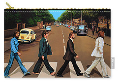 The Beatles Abbey Road Carry-all Pouch by Paul Meijering