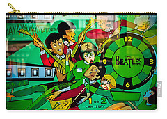 The Beatles - Pinball Art Carry-all Pouch
