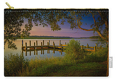 Carry-all Pouch featuring the photograph The Beautiful Patuxent by Cindy Lark Hartman