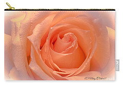 The  Beauty Of A Rose  Copyright Mary Lee Parker 17,  Carry-all Pouch by MaryLee Parker