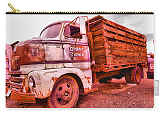Carry-all Pouch featuring the photograph The Beauty Of An Old Truck by Jeff Swan