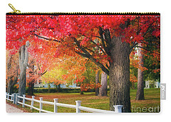 The Beauty Of Autumn In New England Carry-all Pouch