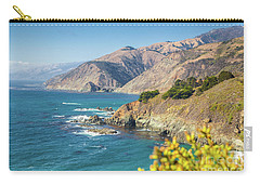 The Beauty Of Big Sur Carry-all Pouch by JR Photography