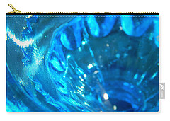 The Beauty Of Blue Glass Carry-all Pouch