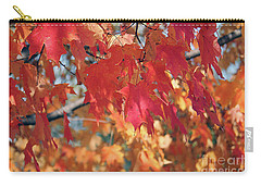 The Beauty Of Fall's Leaves Carry-all Pouch