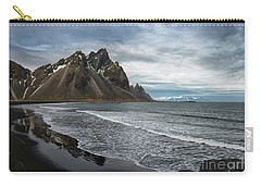 Carry-all Pouch featuring the photograph The Beauty Of Iceland by Sandra Bronstein