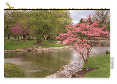 Carry-all Pouch featuring the photograph The Beauty Of Spring by Angie Tirado