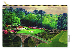 The Beauty Of The Masters Carry-all Pouch by Ron Chambers