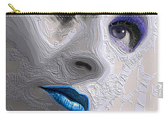 The Beauty Regime Blue Carry-all Pouch by ISAW Gallery