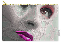 The Beauty Regime Pink Carry-all Pouch by ISAW Gallery