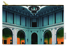 Carry-all Pouch featuring the photograph The Beaux-arts Court by Chris Lord