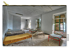 The Bedrooms Of The Former Summer Vacation Building - Le Camerate Dell'ex Colonia Marina Carry-all Pouch