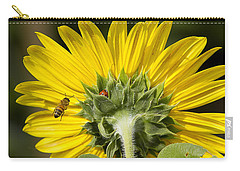 The Bee Lady Bug And Sunflower Carry-all Pouch