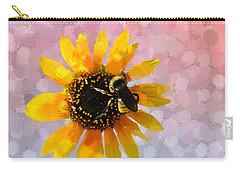 Carry-all Pouch featuring the photograph The Bee's Knees by Betty LaRue