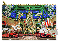 The Bellagio Christmas Tree 2017 2.5 To 1 Ratio Carry-all Pouch
