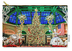 The Bellagio Christmas Tree Panorama 2017 Carry-all Pouch