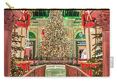 The Bellagio Christmas Tree Under The Arch 2017 Carry-all Pouch