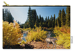 The Bend Of The Rogue River Carry-all Pouch by Diane Schuster