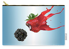 Carry-all Pouch featuring the photograph The Berries by Juli Scalzi