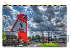 Carry-all Pouch featuring the photograph The Big Chicken by Reid Callaway