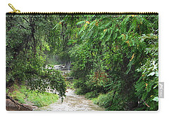 The Big Ditch Of Silver City Has A Story Carry-all Pouch by Natalie Ortiz