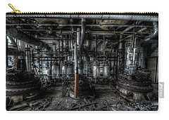 Carry-all Pouch featuring the digital art The Big Experiment  by Nathan Wright
