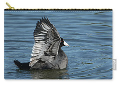 Carry-all Pouch featuring the photograph The Big Flap by Fraida Gutovich