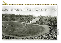 Stanford And U Of C 1925 Carry-all Pouch by Jon Neidert