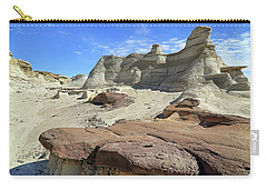 The Bisti Badlands - New Mexico - Landscape Carry-all Pouch by Jason Politte
