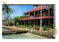 Carry-all Pouch featuring the photograph The Bitter End Yacht Club by Adam Romanowicz