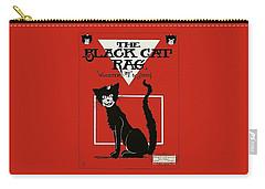 The Black Cat Rag 1905 Sheet Music Art Carry-all Pouch