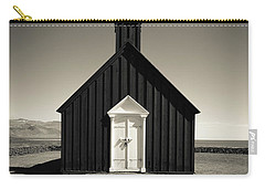 Carry-all Pouch featuring the photograph The Black Church by Edward Fielding