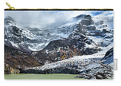 The Black Snowdrift Glacier Carry-all Pouch