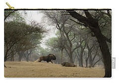 The Black Wildebeest Carry-all Pouch