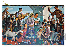 The Blessing Of Animals Olvera Street Carry-all Pouch